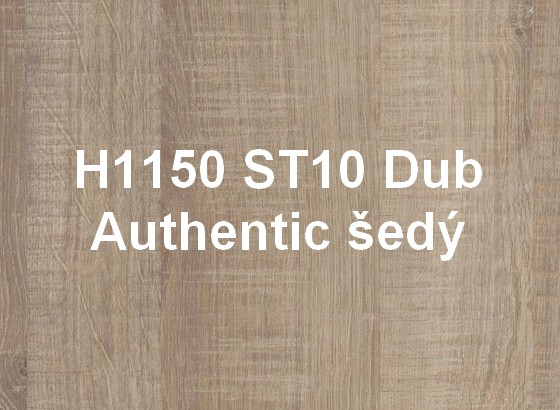 H1150 ST10 Dub Authentic šedý