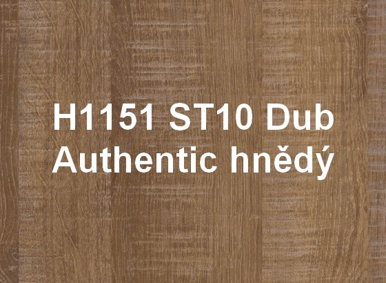 H1151 ST10 Dub Authentic hnědý
